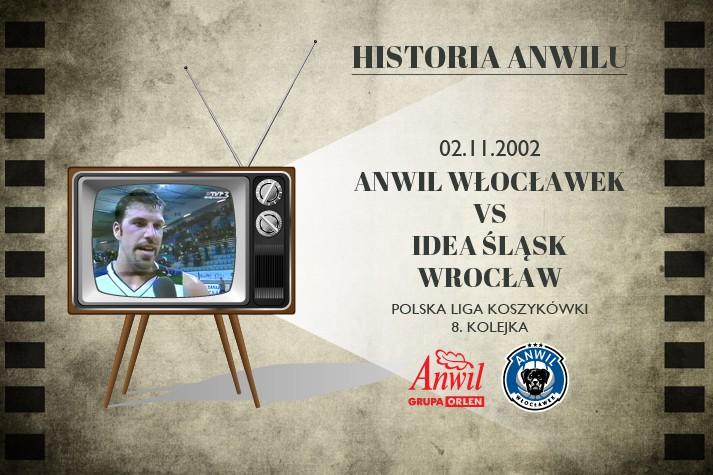 Historia Anwilu #09 | Anwil Włocławek - Idea Śląsk Wrocław 91:70