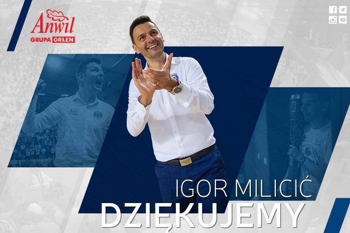 Koniec epoki. Igor Milicić nie będzie trenerem Anwilu