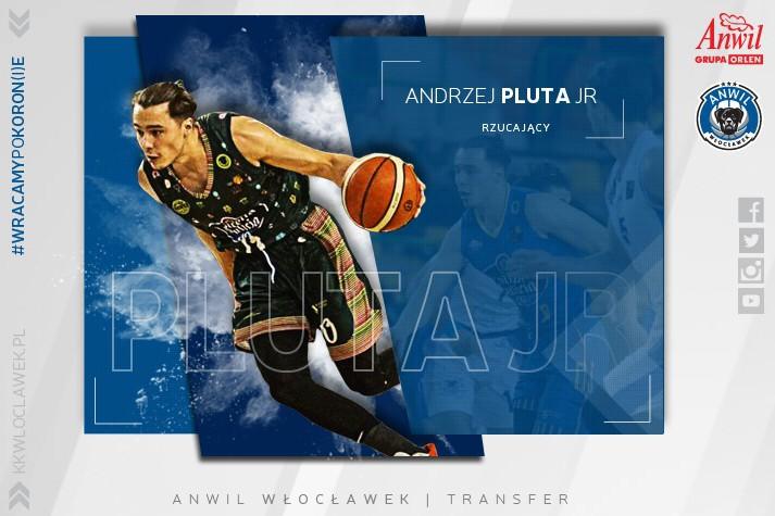 Saga trwa – Andrzej Pluta junior w Anwilu