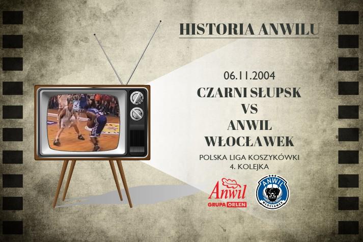 Historia Anwilu #20 | Czarni Słupsk - Anwil Włocławek 79:81