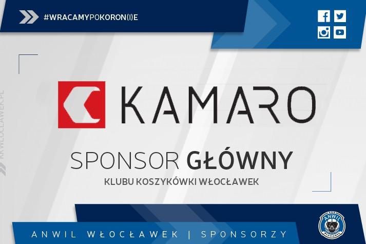 Kamaro nadal sponsorem głównym KK Włocławek