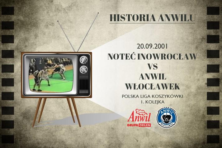 Historia Anwilu #22 | Noteć Inowrocław - Anwil Włocławek 67:84