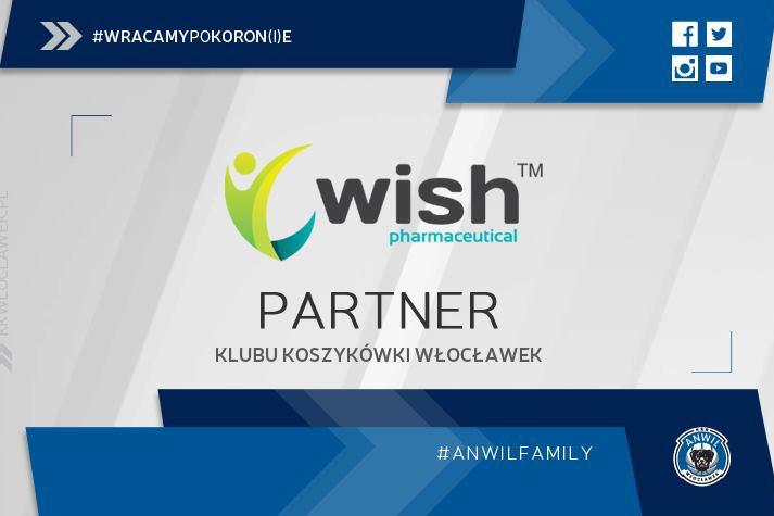 Wish Group pozostaje partnerem KK Włocławek