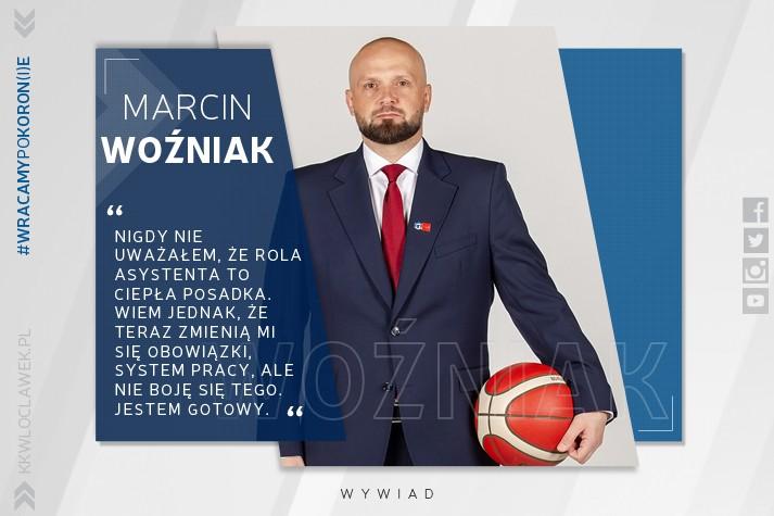 Marcin Woźniak: Nie boję się podjąć wyzwania