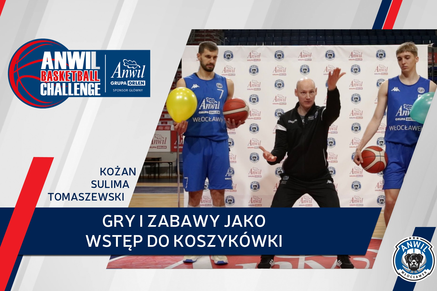 Wideo   Anwil Basketball Challenge #1