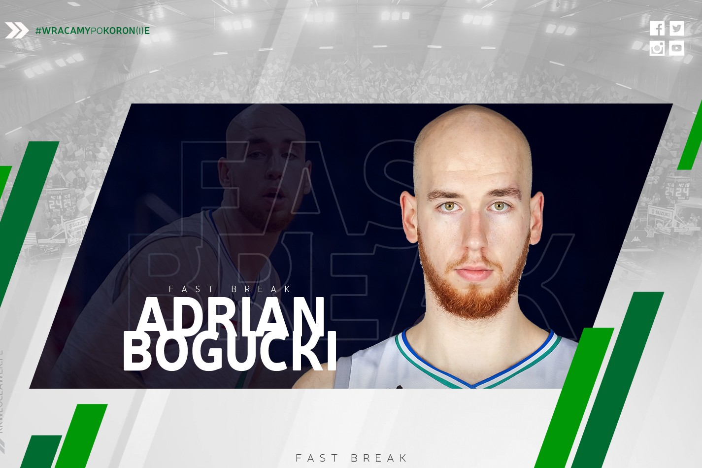 Adrian Bogucki gościem Fast Breaka