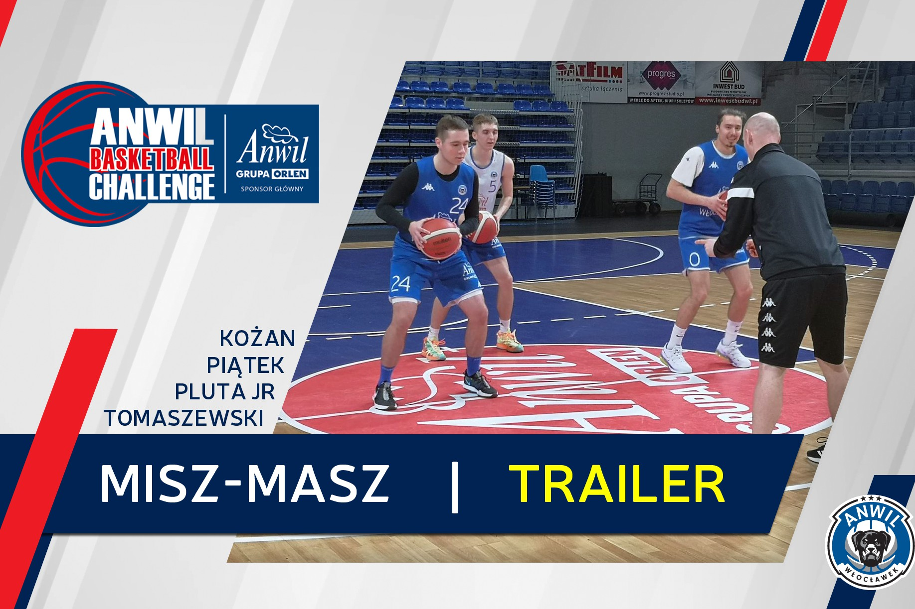 Wideo | Anwil Basketball Challenge #6 | Trailer