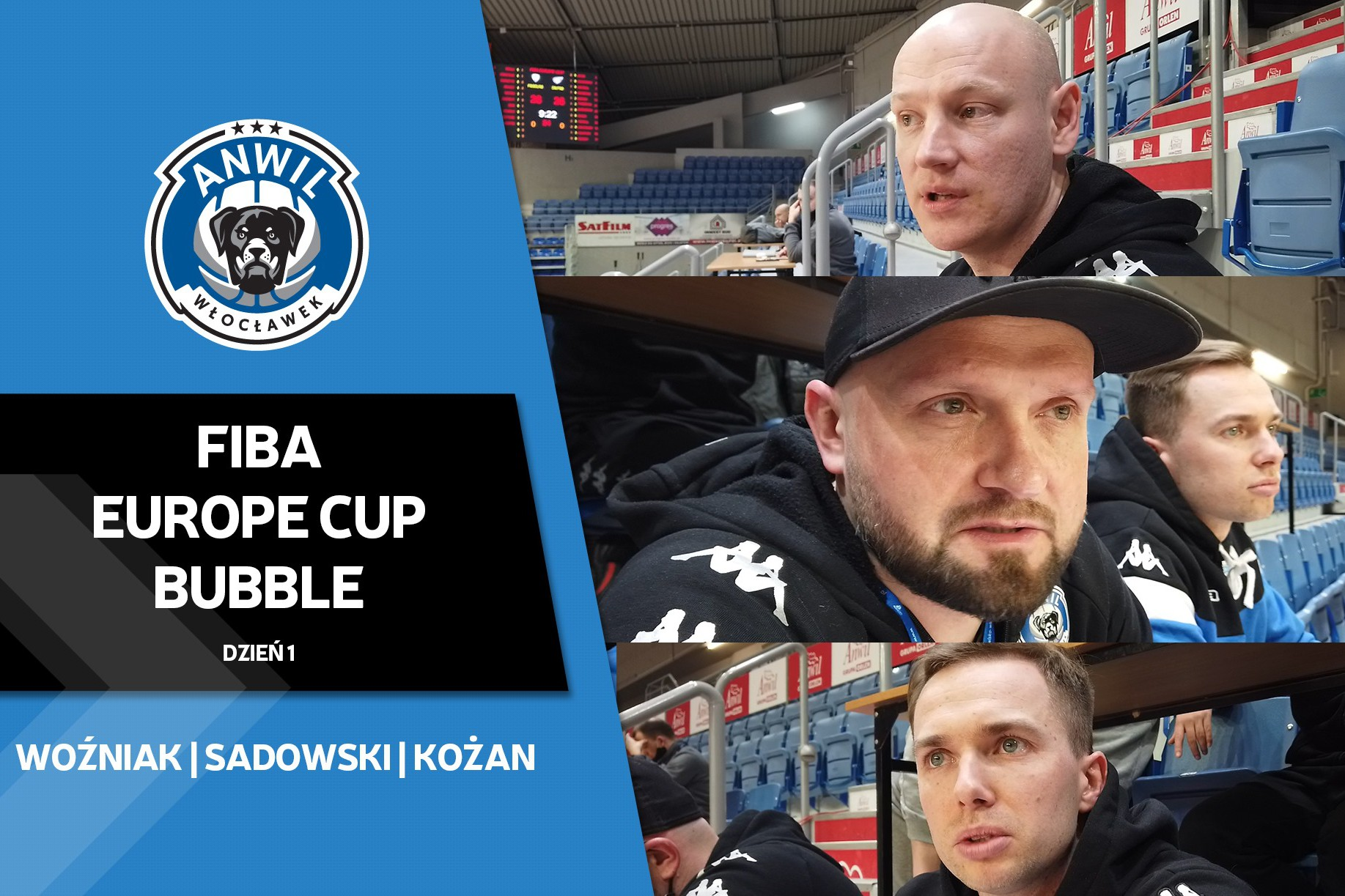 Wideo | FIBA Europe Cup Bubble | Dzień 1 | Scouting Dnipro
