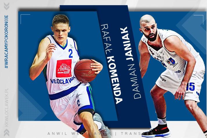 Rafał Komenda i Damian Janiak uzupełniają polską rotację