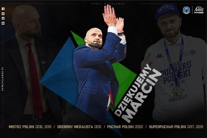 Marcin Woźniak opuszcza Anwil Włocławek po 12 latach