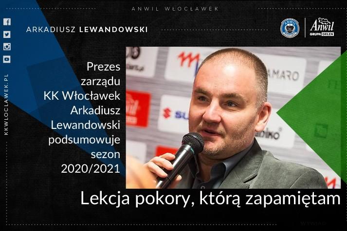 Arkadiusz Lewandowski: Lekcja pokory, którą zapamiętam