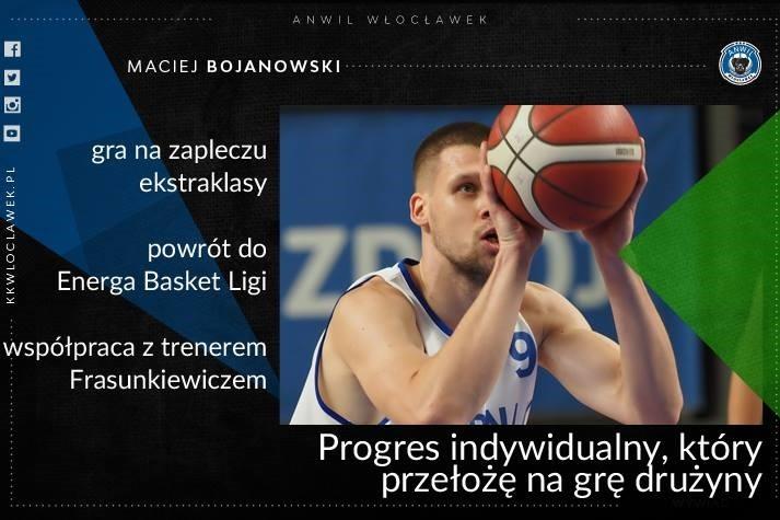 Maciej Bojanowski: Progres indywidualny, który przełożę na grę drużyny