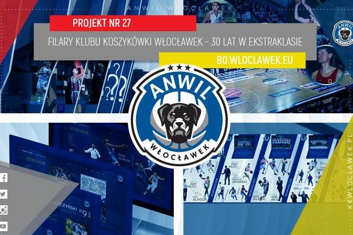 Filary Klubu Koszykówki Włocławek – 30 lat w ekstraklasie
