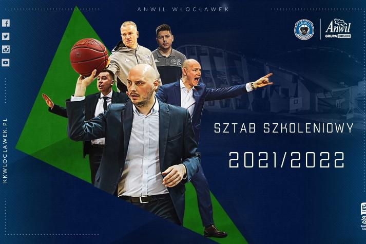 Sztab szkoleniowy Anwilu Włocławek 2021/2022