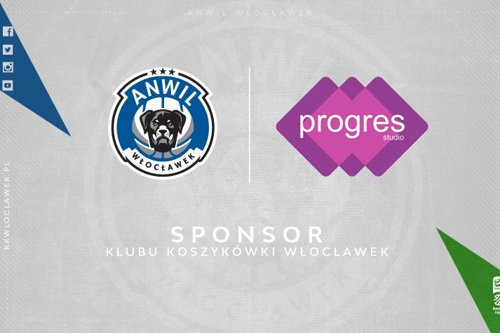 Progres Studio nadal sponsorem KK Włocławek