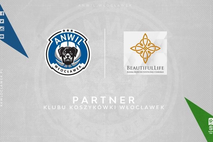 BeautifulLife nowym partnerem KK Włocławek