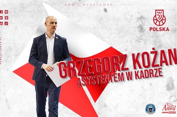Grzegorz Kożan w sztabie reprezentacji Polski