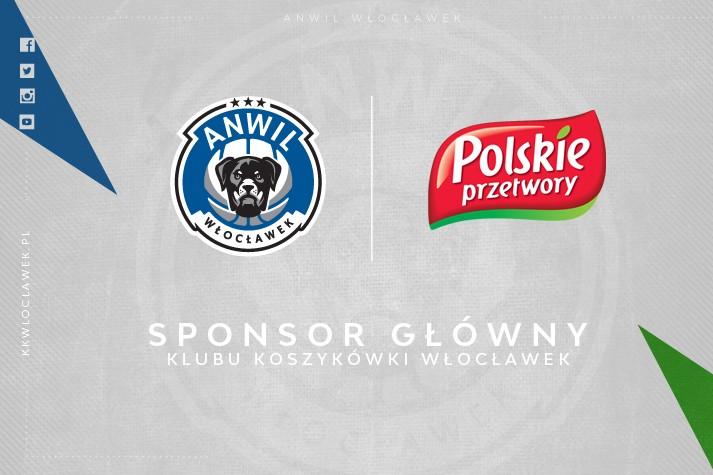 Polskie Przetwory sponsorem głównym KK Włocławek
