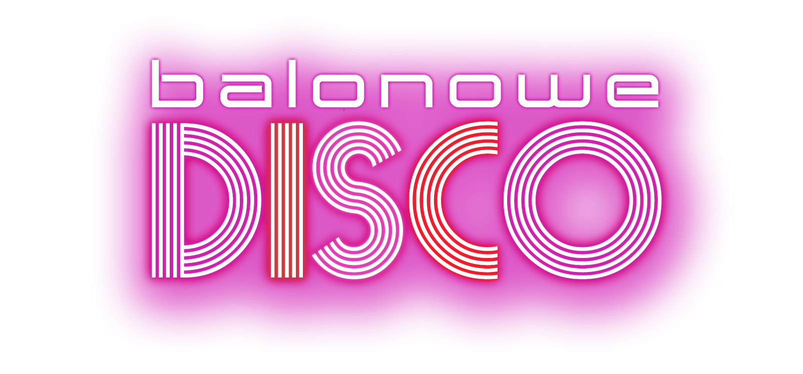 100 disco balonowe