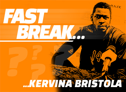 Fast break z... Kervinem Bristolem