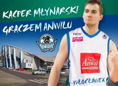 Kacper Młynarski graczem Anwilu