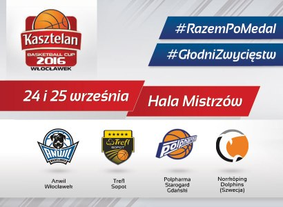 Pary półfinałowe Kasztelan Basketball Cup 2016